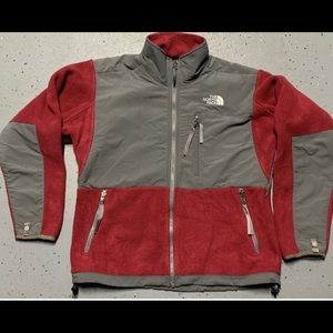 Women Maroon/Grey The North Face Denali Jacket S